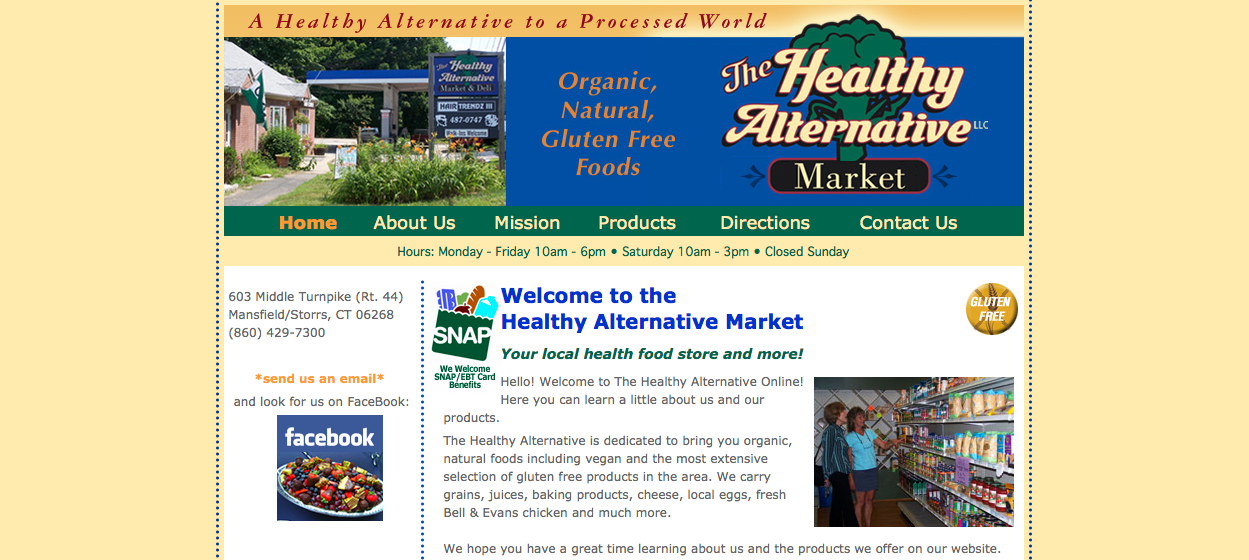 The Healthy Alternative Market